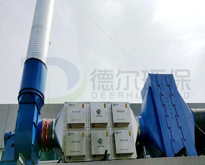 青岛某油墨印刷行业废气治理