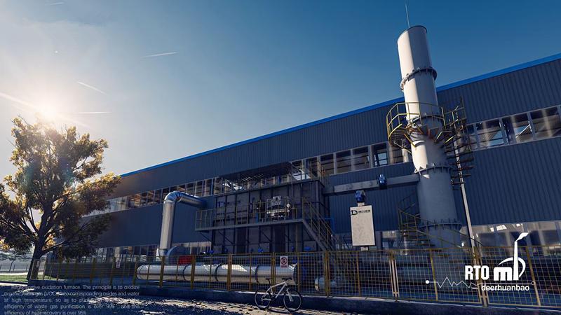 安徽某上市公司废气治理项目顺利完工