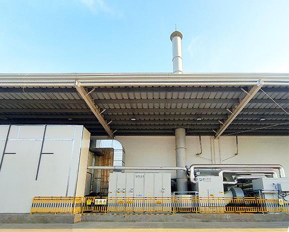 青岛某国企家电行业涂装废气项目