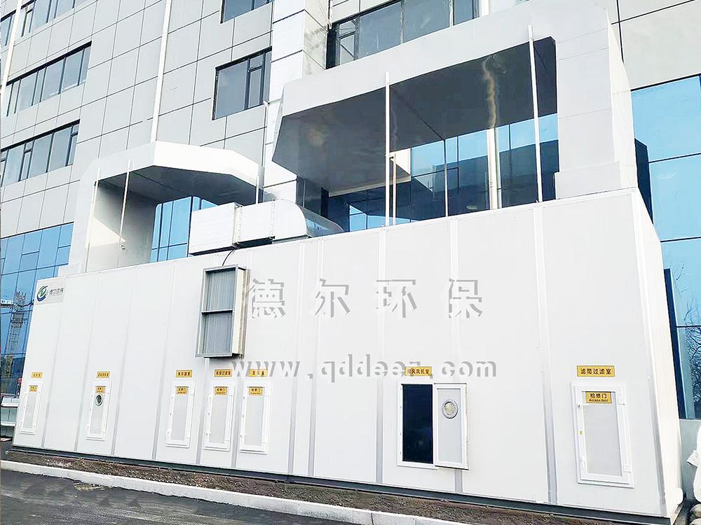 青岛某上市公司轨道交通行业车间焊接烟尘净化项目
