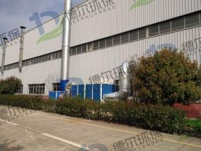 咸宁某大型汽车装备制造公司焊接除尘项目竣工