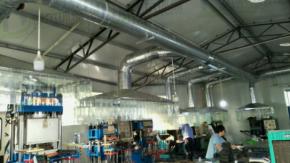 威海某橡胶行业废气治理