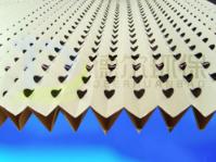 褶皱式干式过滤纸