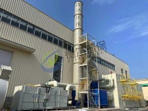 沸石转轮+热氧化工艺