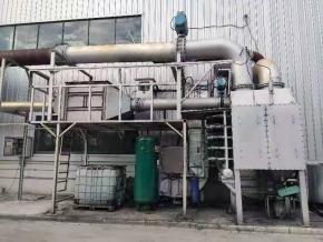 某柴油发电机组尾气治理项目